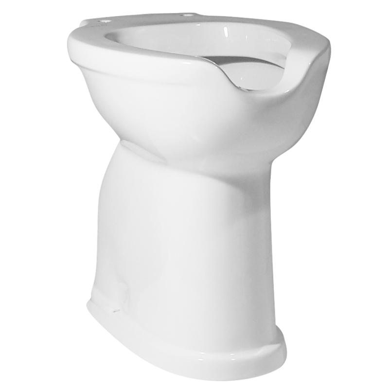 High seating WC-Bidet with front opening for bidet funcion