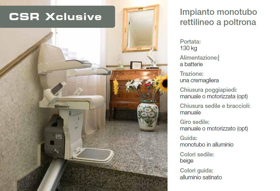 Exclusive montascale
